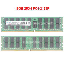 For Samsung 16GB 2Rx4 PC4-2133P 17000 DDR4-2133Mhz 288Pin ECC REG Server Memory