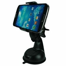 Green Alien 360º Smart Phone & GPS Holder Black Car Mount for Samsung & iPhone
