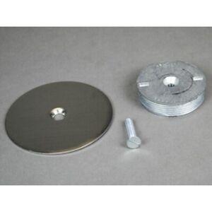 "Walker Wiremold 1046S 3.5"" Blanking Plate Stainless Steel"