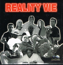 CD album format single: reality vie: compilation 18 titres. autoproduit. D7