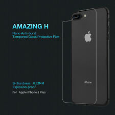 For iPhone 8 Plus Nillkin 9H Anti-Explosion Back Tempered Glass Screen Protector