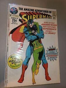 Superman 243 DC Comics Neal Adams Cover VF