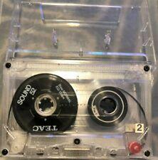 TEAC Sound 52, , ORIGINAL REEL TO REEL CASSETTE w/case Chrome tape, 60min +
