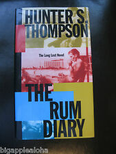 The Rum Diary by Hunter S. Thompson (1998, Hardcover) 1st Edition, like new