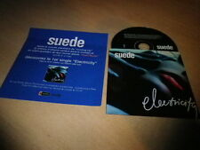 SUEDE - ELECTRICITY !!!!!! MEGA RARE FRENCH PRESS/PACK + PROMO CD!!!!!!!!