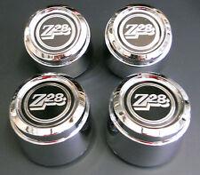 "77-78 Chevrolet Camaro Z28 15"" 15x7 Aluminio Turbina Rueda Centro Tapas De Nuevo"
