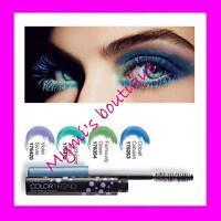 MASCARA COULEUR Avon Color Trend - neuf ! vert, violet, bleu, turquoise...