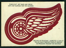 1973 74 OPC O PEE CHEE DETROIT RED WINGS TEAM LOGO EX-NM HOCKEY CARD