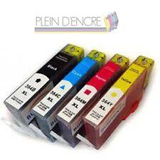 Lot 4 cartouche compatibles HP 364 XL Black Cyan Magenta Yellow Gde Capacité