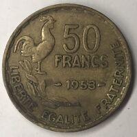 50 Francs Guiraud 1953 G. Guiraud Monnaie Française Achat Unitaire Voir Boutique