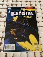 DC Comics Batgirl #1 Cully Hamner Variant Cover Batman Reborn NM Key DC Comic