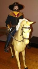 12'' custom cowboy GI Joe with Johnny West horse