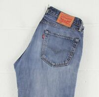 Vintage Levi's 504 Straight Fit Men's Blue Jeans W31 L34