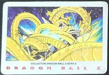 "Carte de Collection Dragon ball Z  ""DRAGON D'OR""  N°10 1989 série 2 bird studio"
