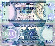 GUYANA 100 DOLLARS ND 2016 P 36 UNC