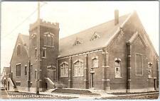RPPC   McMINNVILLE, OR Oregon     PRESBYTERIAN CHURCH   1913   Postcard