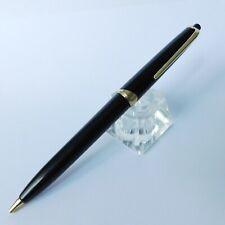 Vintage rare Montblanc Pix 16 Black Gold Trim Mechanical Pencil Germany 1960s