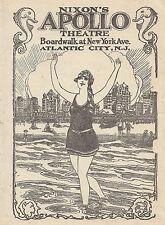"Francine Larrimore ""CHICAGO"" Irene Jones 1928 Apollo Atlantic City Program"