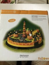 Department 56 Village Accessories Halloween Spinning Pumpkins 53173
