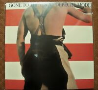"DEPECHE MODE ""GONE TO THE USA"" LP VINYL STUDIO REMIXES AND EXTENDED VERSIONS"