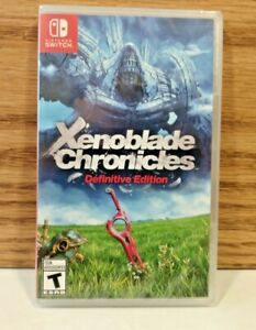 Xenoblade Chronicles Definitive Edition (Nintendo Switch, 2020) Brand New Sealed