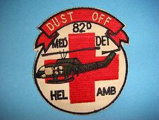 VIETNAM WAR PATCH, US 82nd MEDICAL DETACHMENT (HEL AMB) DUST OFF