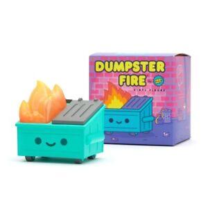 Dumpster Fire Vinyl Toy Figure by 100% Soft little lil NEW