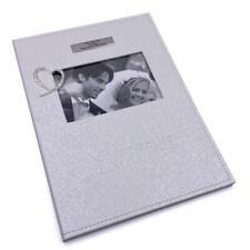 Personalised Wedding Marriage Wedding Certificate Holder Diamante Heart 297125-P