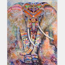 Indian Tapestry Wall Hanging Elephant Mandala Bedspread Hippie Boho Throw Art