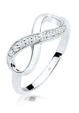 Ring Silber 925 Zirkonia Echtschmuck Geschenk Infinity elegant Trend Elli