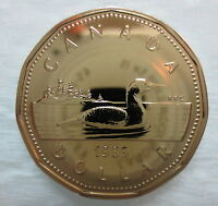 1989 CANADA LOONIE PROOF-LIKE ONE DOLLAR COIN