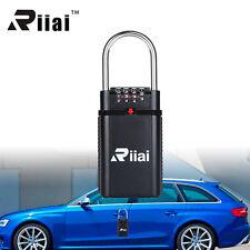 Riiai Padlock 4 Digit Key Safety Vault Lock Box Portable For Realtor Outdoor NEW