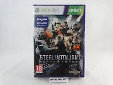 STEEL BATTALION HEAVY ARMOR MICROSOFT XBOX 360 KINECT ITALIANO NUOVO SIGILLATO