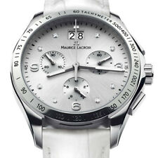 Maurice Lacroix  Miros Damen Uhr Chronograph Mi1057-SS001-150 Neu & OVP