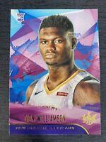 2019-20 Panini Court Kings Zion Williamson Level I RC #72 Pelicans Rookie RARE