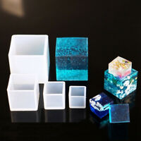 DIY Silicone Pendant Mold Jewelry Making Cube Resin Casting Mould Nett