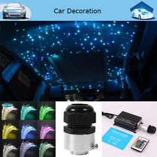 Car 16W RGBW LED Fiber Optic Star Ceiling Lights Kit 270pcs 0.75mm 2M Crystal