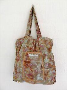 Casual Women boho handmade Javanese foldable zipper shopping batik bags gift