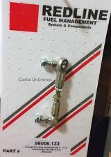 """Carb Universal adjustable Linkage Throttle Rod 3"""" -3 1/2 swivel stud 5mm end"""