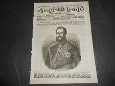 1870 BAGNI LA SPEZIA CANNONE KRUPP LUSSEMBURGO FEDERICO GUGLIELMO DI PRUSSIA