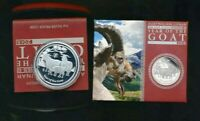 2015 Perth Mint Lunar Year of the Goat 1 oz Silver Proof coin.