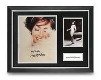 Dame Shirley Bassey Signed 16x12 Framed Photo Display Music Autograph + COA