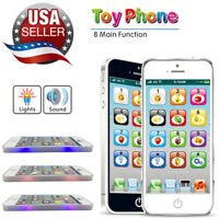 Kids Simulated Smart Phone Educational Music Toy USB Touch Screen Child Gift