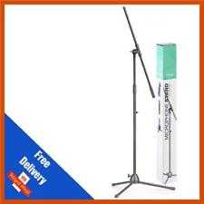Stagg MIS 0822 BK Microphone Boom Stand | Mic Stand | Microphone Stand