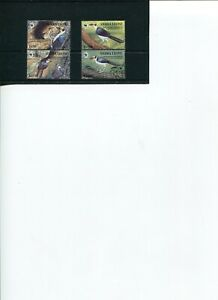 1994 WWF SIERRA LEONE White-necked  Pitcathartes 4V complete set MNH POSTFREE