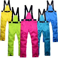 Waterproof Snow Pants Sport Ski Overalls Snowboard Warm Thick Men Women Magic
