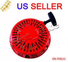 Honda GX120 140 160 200 Pull Start starter Rewind Lawn Mower Motor Generator RED