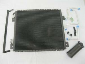 "1939 1940 Ford Air Conditioning Condenser Kit w/ Drier and Hard Lines 17"" x 19"""