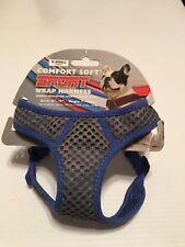 "Coastal Pet Comfort Soft Sport Wrap Harness - Blue X-Small - 16-19"" Girth"