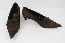 Chaussures Femme Gianni Marra Escarpins Noir Marron Daim Aj300 Ha0sHP
